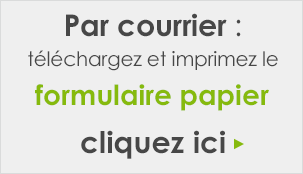 Inscription par courrier